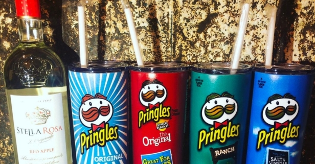 Someone Actually Made a Pringles Can Tumbler For Your Wine and I'm LIVING