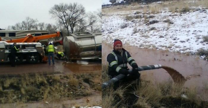 40,000 Pounds of Liquid Chocolate Spills Onto Arizona Highway, Creates 'Chocolate River'