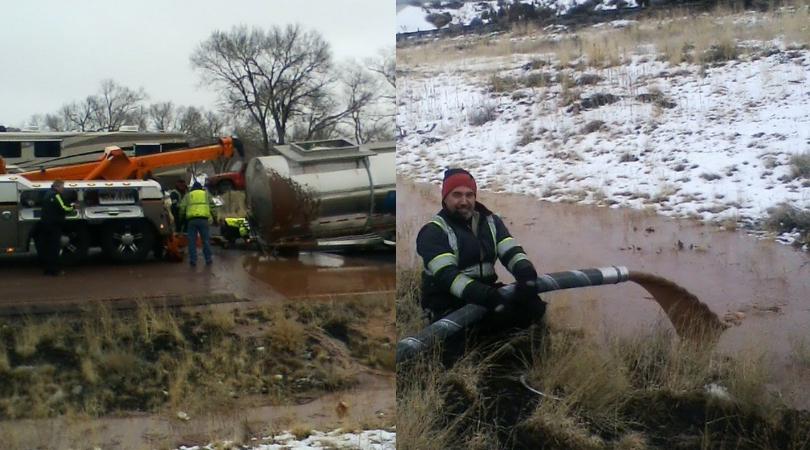 40,000 Pounds of Liquid Chocolate Spills Onto Arizona Highway