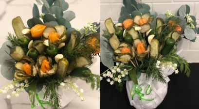 Move Over Roses, Pickle Bouquets Are Apparently A Thing Now!