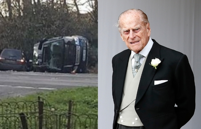 97-Year-Old Prince Philip Involved In Car Accident