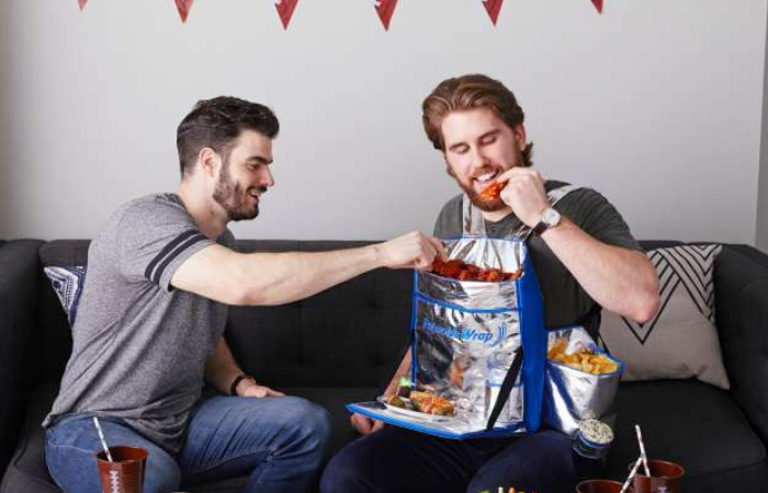 "Reynolds Wrap Has Created a ""Hunger Harness"" So You Can Reach New Levels of Gluttony This Super Bowl"