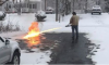 flamethrower snow