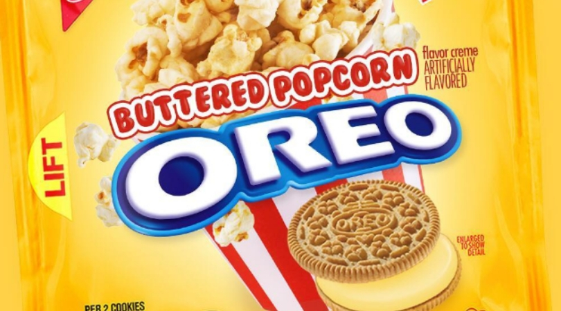 Oreo's New Flavor Involves Buttered Popcorn...I Think I'll Pass!