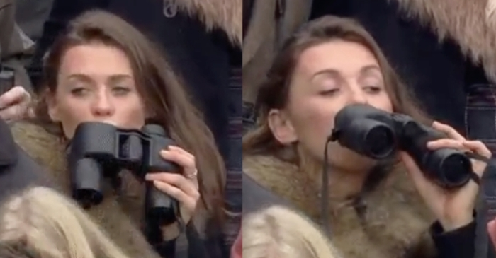 Racing Fan Caught With Hidden Flask Becomes Hilarious Viral Sensation!