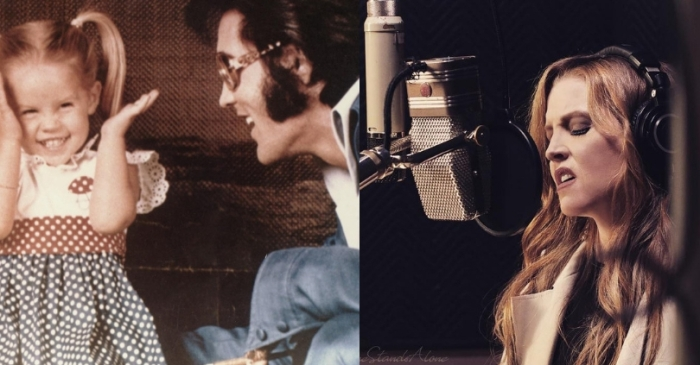 This Beautiful Duet Featuring Elvis and Lisa Marie Presley Will Leave You In Tears!