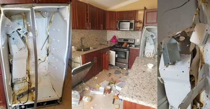 Family's Whirlpool Refrigerator Explodes Inside Their Home