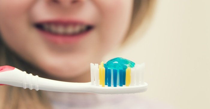 Latest Study Shows Kids Are Using Too Much Toothpaste