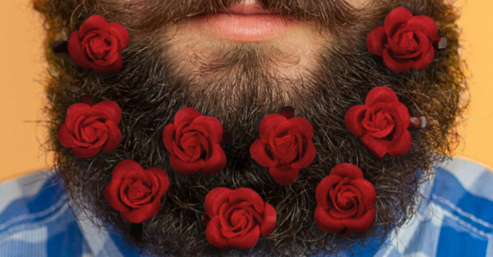 The Hottest New Valentine's Day Gift is a Beard Bouquet for Your Significant Other