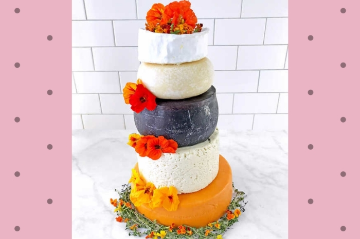 Costco is Selling a 5-Tier Wedding Cake Made Completely Out of Cheese