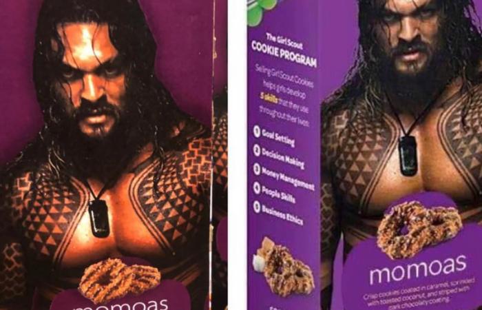 Girl Scouts Put Shirtless Jason Momoa on Samoa Boxes, Call Them Momoa Samoas