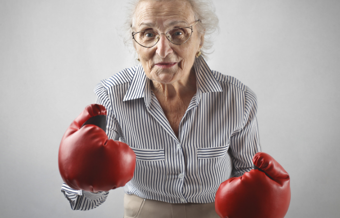 Nursing Home Brawl Breaks Out Between Old Ladies Over Bingo Seating