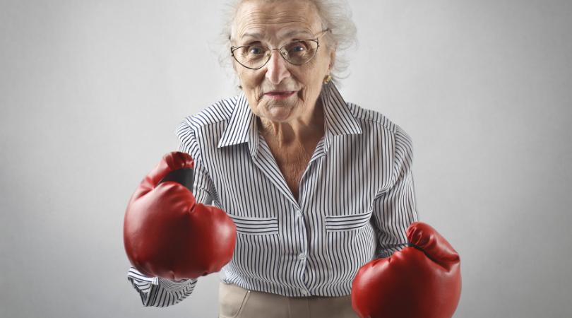 Old Women Fight Bingo
