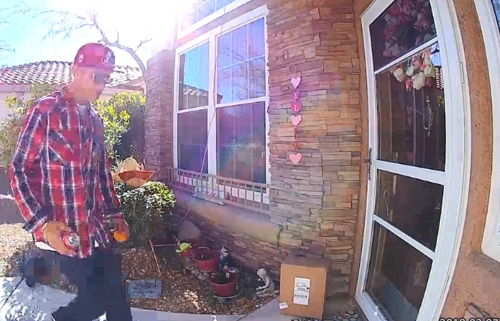 Porch Thief Caught on Camera Stealing 14-Year-Old Boy's Chemotherapy Medicine