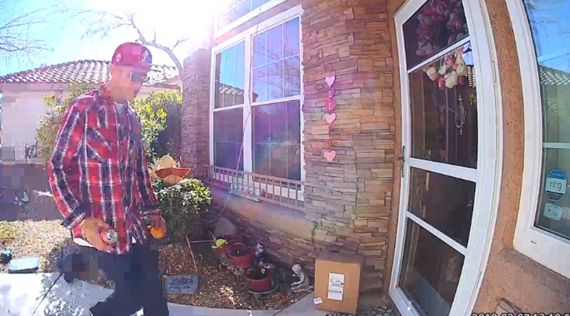 Porch Pirate Caught on Camera Stealing 14-Year-Old Boy's Chemotherapy Medicine
