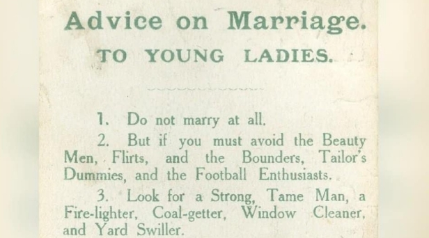 This Hilarious Post By A Suffragette Wife On Marriage Advice is EVERYTHING