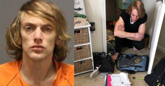 'Ghost' In College Student's Closet Turns Out To Be A 30-Year-Old Man Wearing Her Clothes