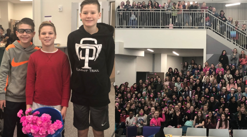 3 Boys Buy Over 200 Flowers For Girls at Kansas Middle School For Valentine's Day