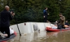 The Latest: Man dies in Northern California floodwaters