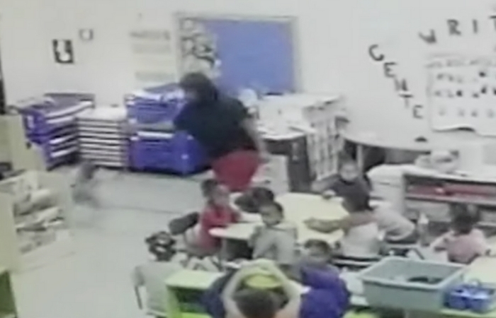 Daycare Worker Caught on Camera Throwing 3-Year-Old Against Cabinet