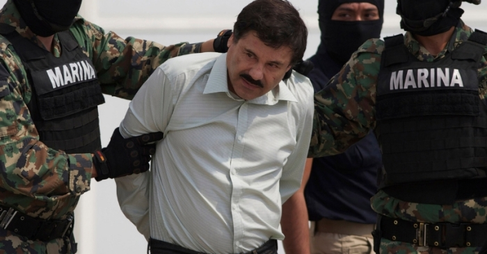 "Notorious Drug Lord Joaquin ""El Chapo"" Guzman Convicted, Found Guilty Of All Counts"