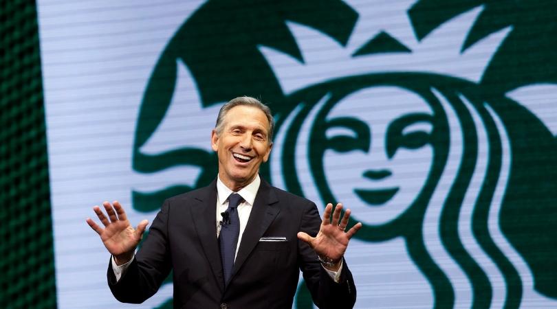 AP, Associated Press, Starbucks, President, CEO, Trump, Howard Schultz