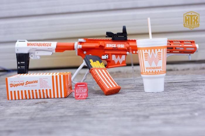 There's Nothing More Texas Than This Whataburger Gun