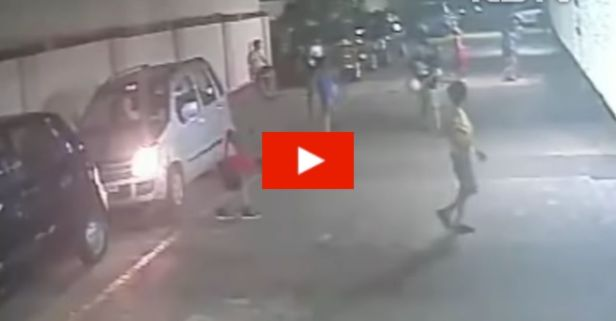 Shocking Video Shows Boy's Miraculous Escape After Being Run Over