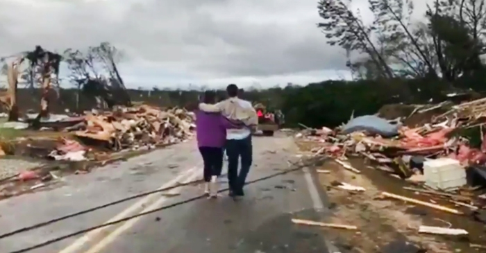 Search Continues After Alabama Tornado Kills 23