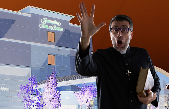 Employee Suing Hampton Inn Because Boss Tried to Force Him to Have an Exorcism