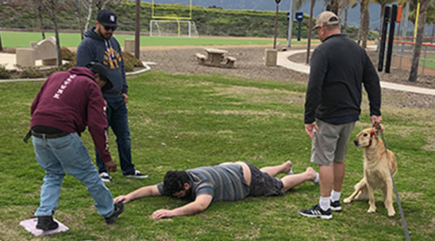 Family Wrestles Young Boy Away from Sex Offender Trying to Kidnap Him on Playground