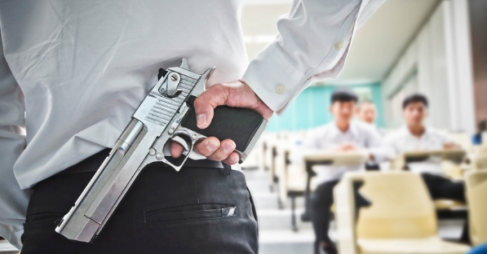Should Teachers Who Carry Guns In School Be Given a Pay Raise?