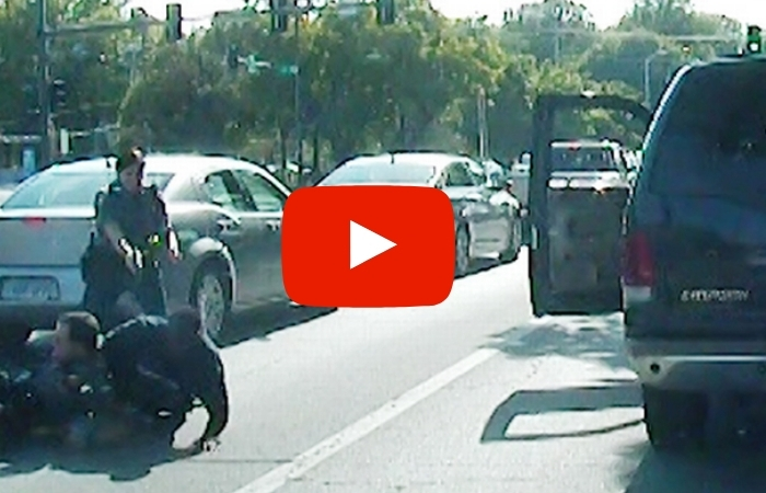 Cop Shoots Man During Traffic Stop After Accidentally Grabbing Her Gun Instead of Taser