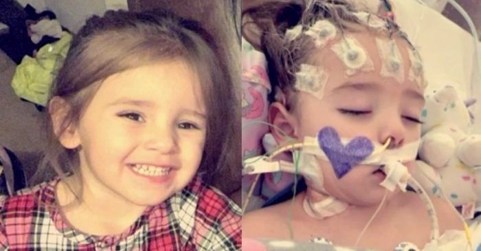 2-Year-Old Fights For Her Life After Flu Symptoms Lead to Brain Infection