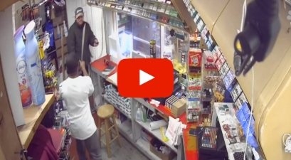 Watch: Store Clerk Fights Off Armed Robbers With Machete