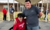 High School Student Saves For 2 Years Working Part Time To Buy His Friend An Electric Wheelchair