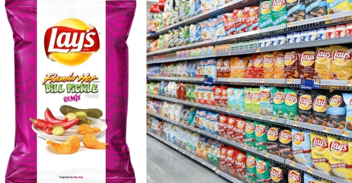 Horray! Lay's Is Releasing New Flamin' Hot Pickle Flavored Chips!