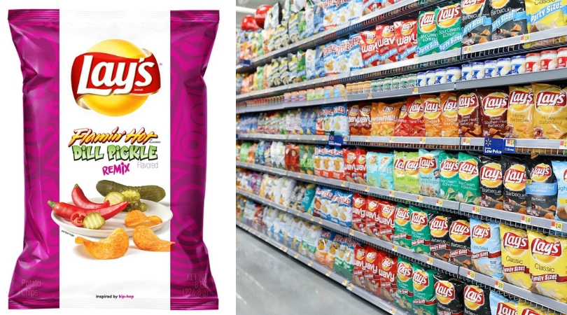 Horray! Lays Is Releasing New Flamin' Hot Pickle Flavored Chips!