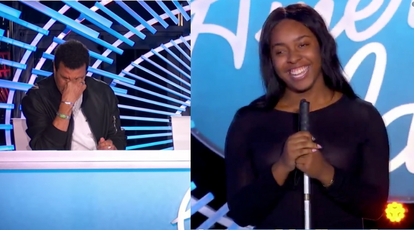 "Blind American Idol Contestant Brings Lionel Richie To Tears With Cover of Andra Day's ""Rise Up"""