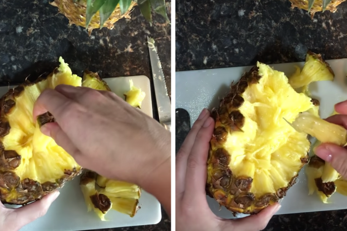 This Pineapple Hack Proves There's An Easier Way To Eat Fruit