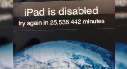3-Year-Old Locks His Dad's iPad For 25 Million Minutes!