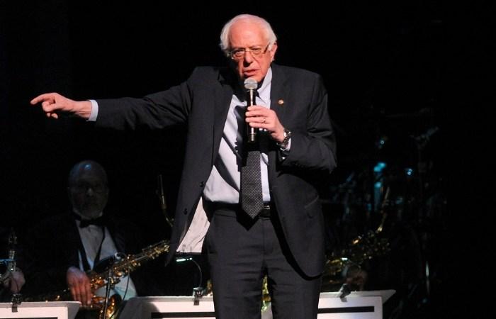 Bernie Sanders Calls Trump a Racist Before Apollo Event