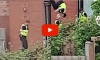 Bored Cop Filmed Doing Flips On Trampoline During Drug Raid