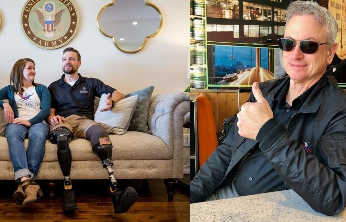 Gary Sinise Surprises Green Beret Who Lost Both Legs in Afghanistan With Disability-Friendly Smart Home
