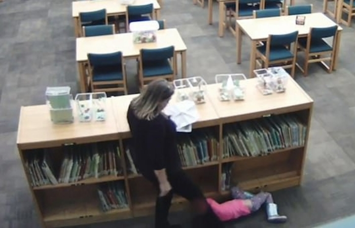 Elementary Teacher Caught On Camera Kicking 5-Year-Old Student