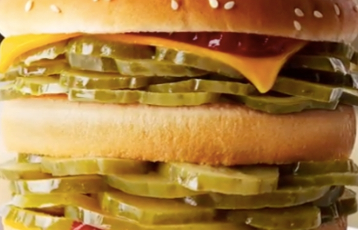 McDonald's Releases 'McPickle' Burger For April Fools, Which Actually Sounds Amazing