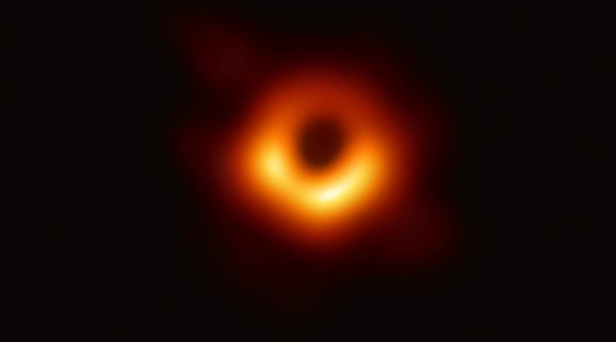 Scientists Reveal First Ever Image Of A Black Hole