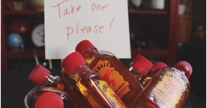 Drunk Middle Schooler Chugs 6 Mini Bottles of Fireball Whiskey, Passes Out In Nurse's Office
