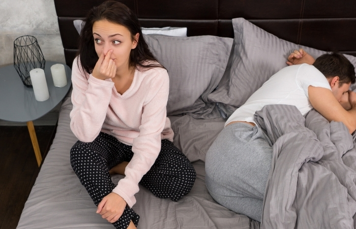 No, Your Husband's Farts Aren't Actually Helping You Live Longer
