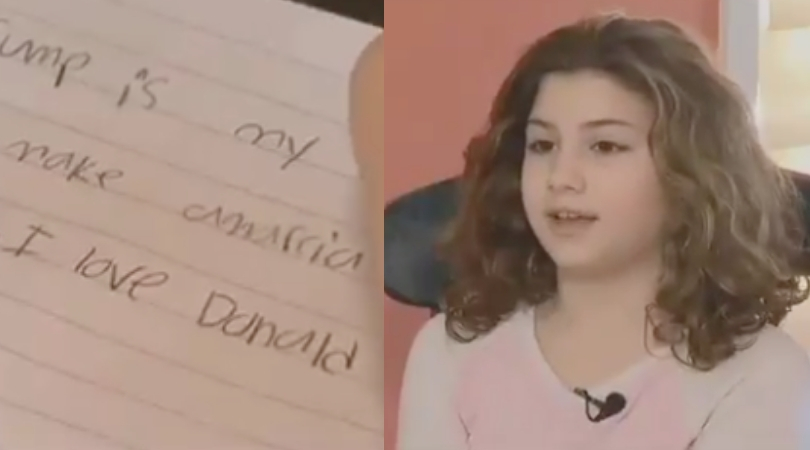 11-Year-Old Claims She Was Banned From Choosing Trump as 'Hero' for School Project; Teacher Suggests Obama Instead